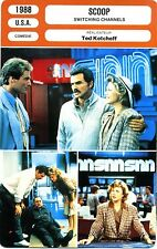 Fiche Cinéma. Movie Card. Scoop/Switching Channels (USA) 1988 Ted Kotcheff