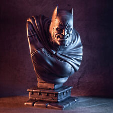 "3D Printed Batman Bust The Dark Knight Bust Frank Miller - LARGE - 10"" Tall"