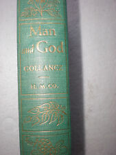 (1950) Vintage Antique MAN AND GOD Hardback Book Passages by Victor Gollancz