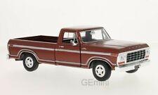 Ford F150 Douane metallic marron 1979 1/24 Motormax