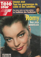 "Télé Star N°852 - 25 Jan. 1993 - Romy Schneider - Eddith Piaf - ""Santa Barbara"""