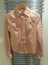 Polo Sylt Bluse, orange/weiß gestreift S, wie neu