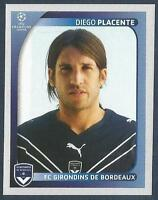 PANINI UEFA CHAMPIONS LEAGUE 2008-09- #168-BORDEAUX-DIEGO PLACENTE