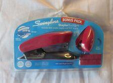 SWINGLINE STAPLER BUDDIES BONUS PACK DESK & TOT STAPLER & 500 STAPLES RED