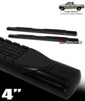 """For 1997-2004 Ford F150 Super/Ext Cab 4"""" Black Side Step Nerf Bars Running Board"""