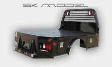 CM SK Flat Bed CHEVY, DODGE, FORD, CAB AND CHASSIS, SKIRTED, TRUCK BED