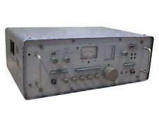 30MHz-300MHz -5+120dB SMV-7 Selective Level Meter Micro Voltmeter analog HP ESI