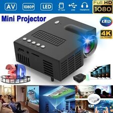 Mini Portable LCD Projector HD Micro Mobile Phone Video Home Theater Cinema