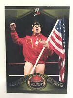 2009 Topps Nikolai Volkoff Legends of the Ring wwe wrestling card wwf nwa USSSR