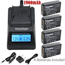 EN-EL20 Battery & Fast Charger for Nikon Coolpix A, 1 J1,1 J2, 1 J3, 1 S1, 1 V3