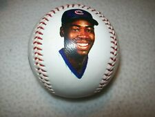 JEROME WALTON 1989 ROOKIE OF THE YEAR CHICAGO CUBS PHOTOBALL FOTOBALL BASEBALL