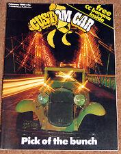 CUSTOM CAR Magazine Feb 1980 - Mach 1 Mustangs, 31 Chevy, A60 Pickup, Santa Pod