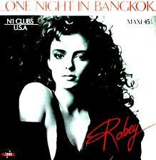 "12"" - ROBEY - ONE NIGHT IN BANGKOK (ITALO) SPANISH EDIT. 1985, MINT - NUEVO"