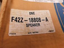 NOS 1993 - 1997 FORD PROBE INTERIOR SUBWOOFER SPEAKER ASBY F42Z18808A NEW OEM