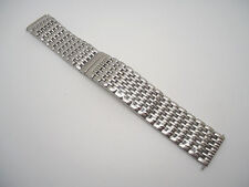 20 mm 20mm Silver Stainless Steel Mesh Metal Band IW