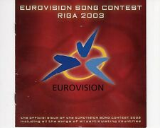 CD EUROVISION SONG CONTEST RIGA 2003	VG++ ( B0094)