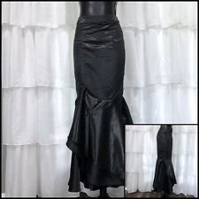 SMALL - NWT VINTAGE GOTH COLLECTION UK Godet Steampunk Skirt Burlesque