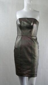 Warehouse Strapless Metallic Bodycon Dress   6 BNWT by Reluv Clothing