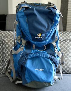 Deuter Aircontact ACTlite 50+10 Trekkingrucksack Rucksack Blau 50+10 L wie NEU
