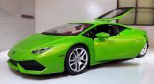 1:24 Escala Mantis Verde Lamborghini Huracan LP 610-4 Maisto