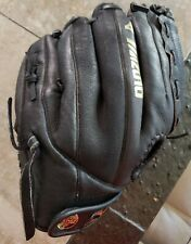 "Mizuno Professional Model MMX 123P 12"" Ball Park Leather Baseball Glove RHT"