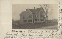 Home - Lynn MA Cancel c1910 Real Photo Postcard #3