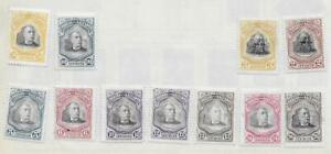 11 Salvador Stamps from Quality Old Antique Album