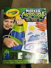 Crayola Marker Airbrush Sprayer Kit - New in Box