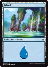 4 x Island (267/279) - Ixalan - Magic the Gathering MTG Basic Land