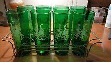 Anchor Hocking Emerald Green Ice Tea Tumbler Set
