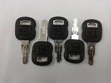 (5pc) 5P8500 Old Ignition Keys Fits Cat Caterpillar & ASV Positrack 0310-072 L1