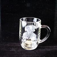 Walt Disney World 100 Dalmatians Karen 2004 Engraved Clear Glass Mug