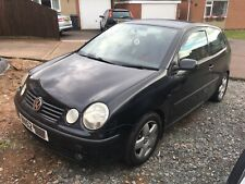 VW Polo 1.4s 100bhp 2002 52 83,000 miles Damaged spares or repair