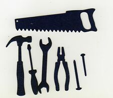 D-I-Y -  DIE CUT TOOL 7 SHAPES x  5 SETS -  MALE CARDS - CARDMAKING&SCRAPBOOKING