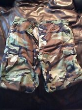 Military Issue Battle Dress Pants Camoflauge Sz (Large-Regular)36x32