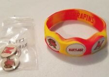 Wrist Skins Golf Ball Marker Bracelet,Maryland Terrapins,Magnetic,Size Small