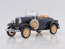 Scale model 1/18 1931 Ford Model A Roadster (Washington Blue)