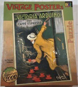 La Victoria Arduino 1000 Piece sealed Puzzle Vintage Posters  buffalo games
