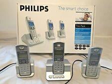 Philips 5253 - Digital Cordless Phone With Digital Answerphone Triple Pack