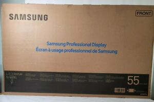 "Samsung (DB55E) 55"" Slim Direct-Lit LED Display 1920x1080 - Factory Sealed"