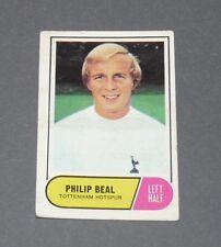 A & BC GUM CARD FOOTBALL ENGLAND 1969 PHILIP BEAL TOTTENHAM HOTSPUR SPURS