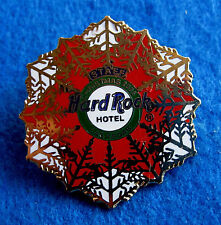 New listing Las Vegas Hotel Staff Awarded Christmas Xmas Snowflake 2006 Hard Rock Cafe Pin