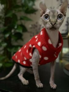sphynx cat clothes, devon rex cat clothes, pets clothes