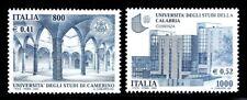 ITALIA 2000 2465/66 UNIVERSIDADES  1v.