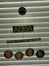 ABBA, double-sided 'promotional only-not for sale' mobile for ABBA Gold CD