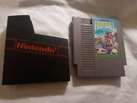 PLAY ACTION FOOTBALL Original NINTENDO NES GAME WORKING Authentic with DUSTCOVER