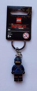 LEGO Jay Keychain/Keyring - Lego Ninjago Movie 853696 (Retired)