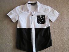 Boys clothing- Sw Bb8 jacket, Sleeveless parker jacket Bad boy shirt size 6-7