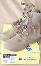 New Belleville Coyote Men's Ultra Light Assault Boots Sz 12 Regular C320 Vibram