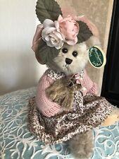 Bearington Bears Daisy & Belle #1069 14� Plush Bear W/Bear Pink Floral Dress Mwt
